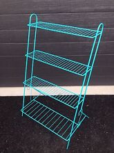 Vintage 3 tier metal plant stand Rankin Park Newcastle Area Preview