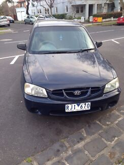 Navy 2001 Hyundai Accent for sale!!! Elwood Port Phillip Preview