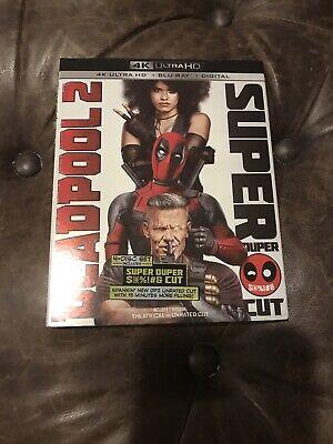Deadpool 2 (w/Slipcover, 4K Ultra HD, Blu-Ray, 2018)
