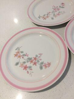 Cherry blossom design dinner plates