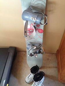 Great beginner snowboard/boots/bindings