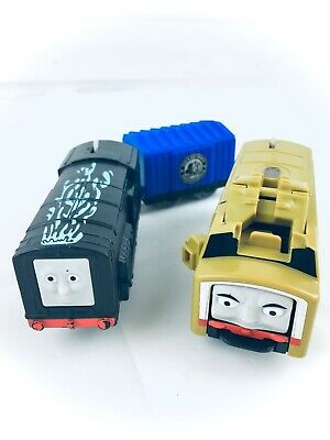 Thomas & Friends Trackmaster 2 Motorized Toy Trains Diesel & Diesel 10 **READ