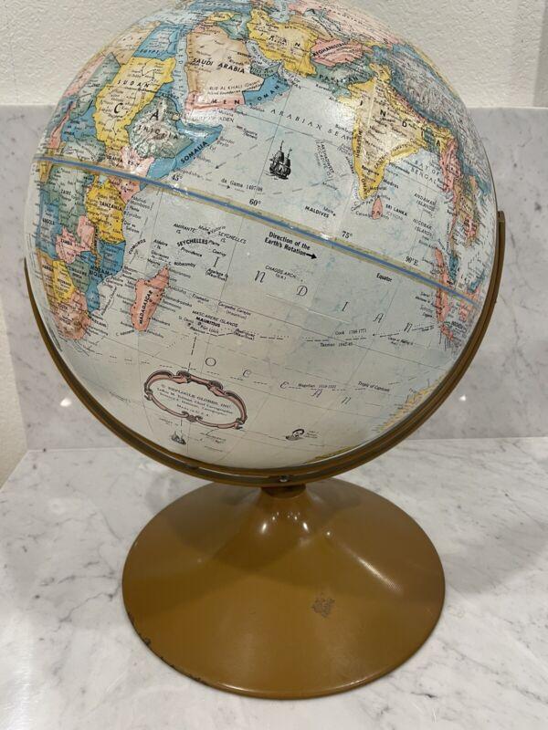Vintage Replogle 16 Inch Diameter World Classic Series Globe