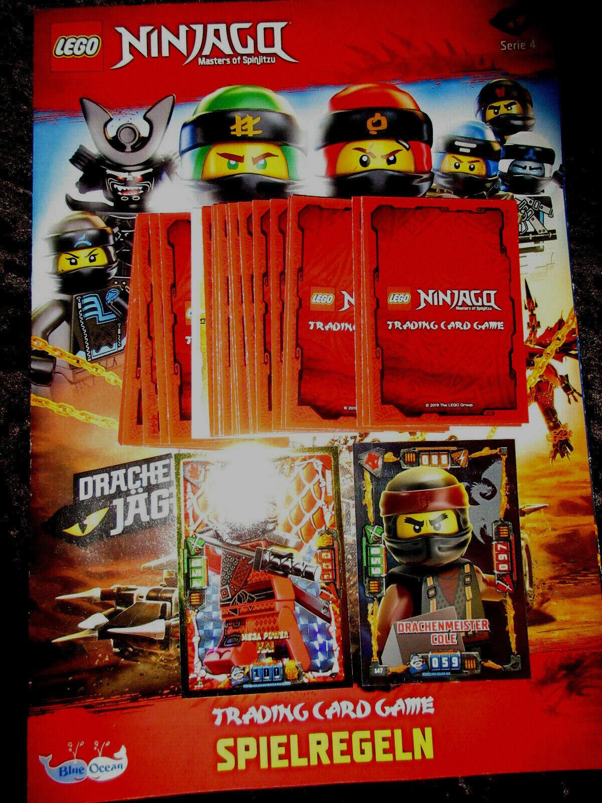 Serie 3: LLOYD 7 x TRADING CARD XXL JAY GARMADON Lego Ninjago KILLOW KAI
