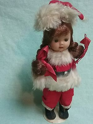 1954 Storybook Nancy Ann Muffie Muffy Santa walker adult owner showcase display