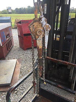 Lifco 3 Ton Lever Chain Hoist Come-a-long 6 Chain Model 0z300-20lhop