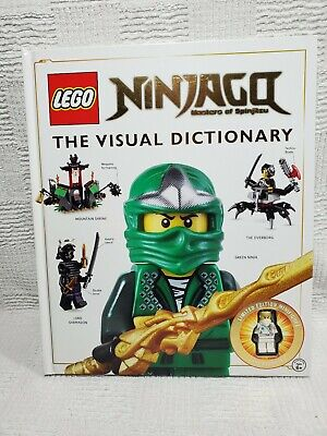 LEGO NINJAGO The Visual Dictionary Book  w Limited Edition Minifig Zane Rebooted