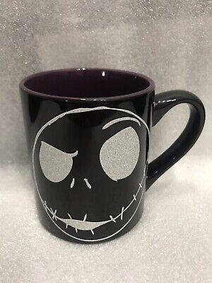 Brand New Nightmare Before Christmas Jack Skellington Black Coffee Mug Tea Cup
