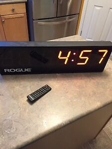 Rogue wall fitness timer