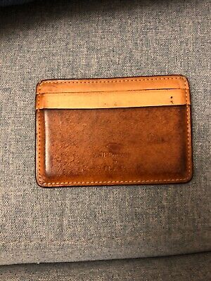Il Bussetto Card Holder Tan Leather