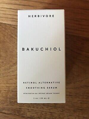 Herbivore Bakuchiol Retinol Alternative Smoothing Serum 1oz NEW IN BOX