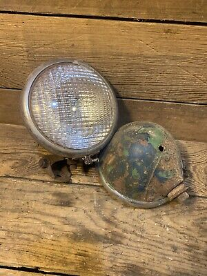 2 Tractor Head Lights Set Original Old Massey Harris Case John Deere Oliver Ac