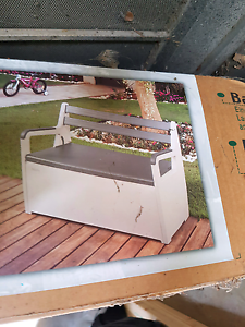 Bench box storage seat garden Outstanding by Keter Heidelberg Heights Banyule Area Preview