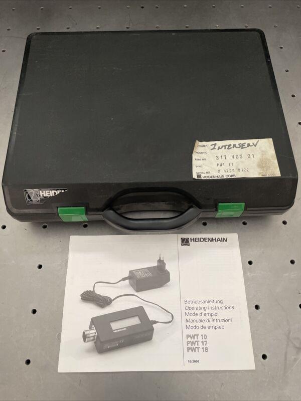 Heidenhain PWT17 Encoder Tester