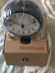 Rosendahl Arne Jacobsen table desk clock alarm Navy blue Station danish design