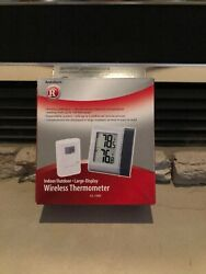 Radio Shack 63-1088 Indoor/Outdoor Large Display Wireless Thermometer (NEW)