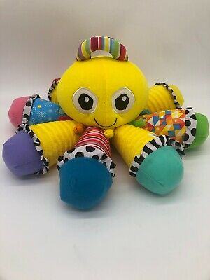 Lamaze Octotunes Sensory Development Baby Toy~Musical Squeak Octopus
