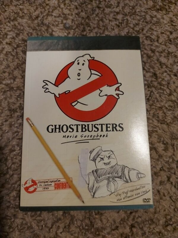 Ghostbusters Movie Scrapbook Comic Book Making Of Ghostbusters *FREE SHIPPING!