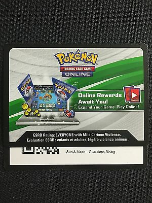 Pokemon Sun   Moon Guardians Rising Tcg Online Code Cards  12 Count