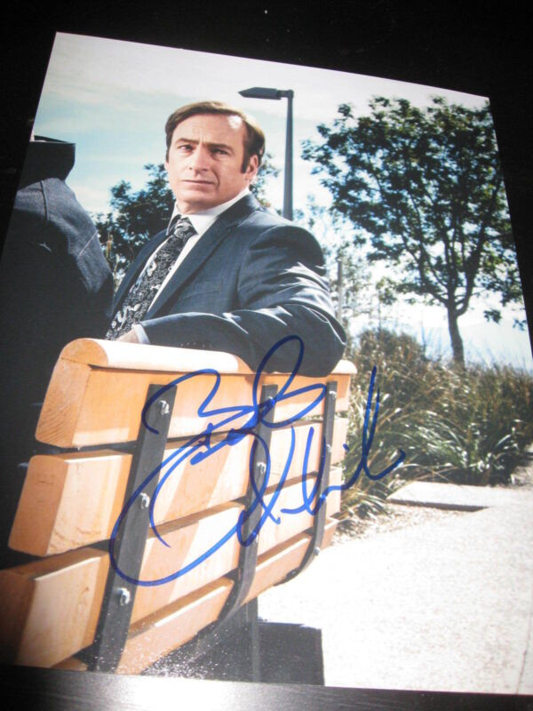 BOB ODENKIRK SIGNED AUTOGRAPH 8x10 PHOTO BETTER CALL SAUL BREAKING BAD COA X16