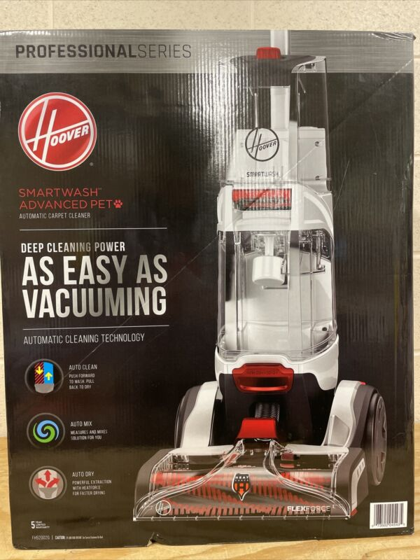 Hoover SmartWash Advanced Pet FH52002G Automatic Carpet Cleaner NEW