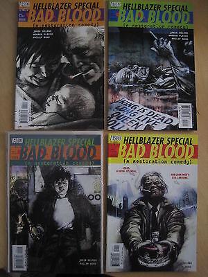 "HELLBLAZER SPECIAL : ""BAD BLOOD"": COMPLETE 4 ISSUE CONSTANTINE SERIES.2000"
