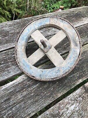 Vintage Child's Wheelbarrow Wheel