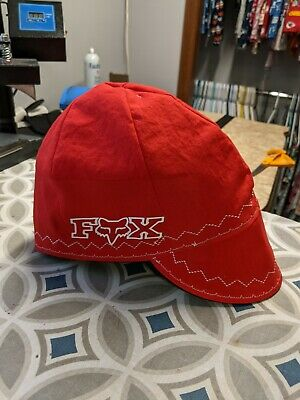 Wendys Welding Hat Made With Red Fox Racing Application New