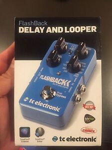 T.C Electronic Flashback Delay And Looper Guitar Pedal