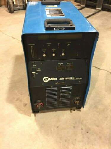 MILLER AUTO INVISION II 450AMP 100% DUTY CYCLE MIG WELDER
