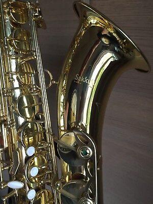 Sakkusu Tenor Saxophone Excellent Condition