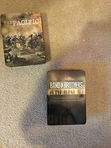 The pacific and band of brothers