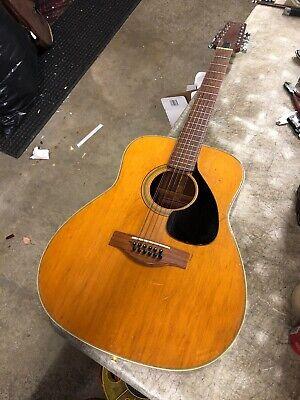 Nippon Gakki Yamaha Red Label FG-230 Vintage 12-String Acoustic Guitar Japan