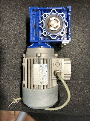 Motovario 3 Phase Electric Motor T71a4 0.33hp 60hz 1710rpm 230v Used