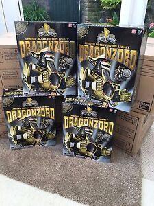 ** UK Stock ** Legacy black Dragonzord megazord New sealed **One per purchase**
