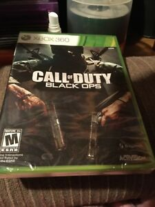 CALL OF DUTY BLACK OPS XBOX 360 SEALED