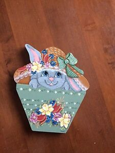 Tole Painted Easter decoration