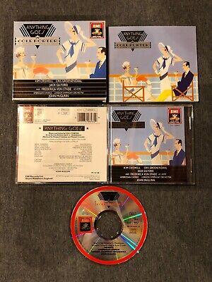 Anything Goes Cole Porter by John McGlinn CD May-1990 EMI Angel Anything Goes Cole Porter