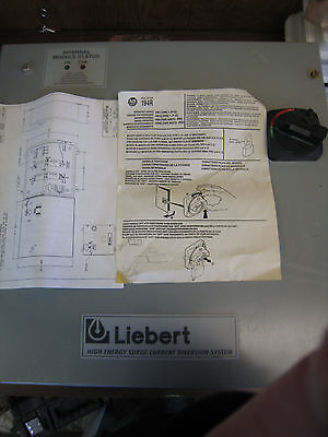 Liebert Lcg120yc1r Transient Voltaget Surge Suppressor New 120208v New