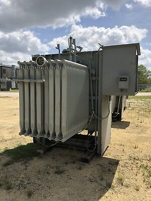 Ge Substation Transformer 2000 Kva Pri 13800 Sec 480y277 Volt Three Phase