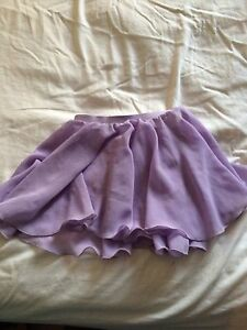 Lilac Sheer Dance Skirt