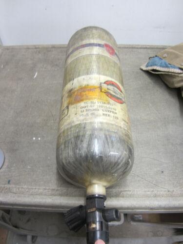 2009 Mfg Date   ISI Carleton SCBA Bottle 30 Min In service Needs Hydro MSA SCOTT