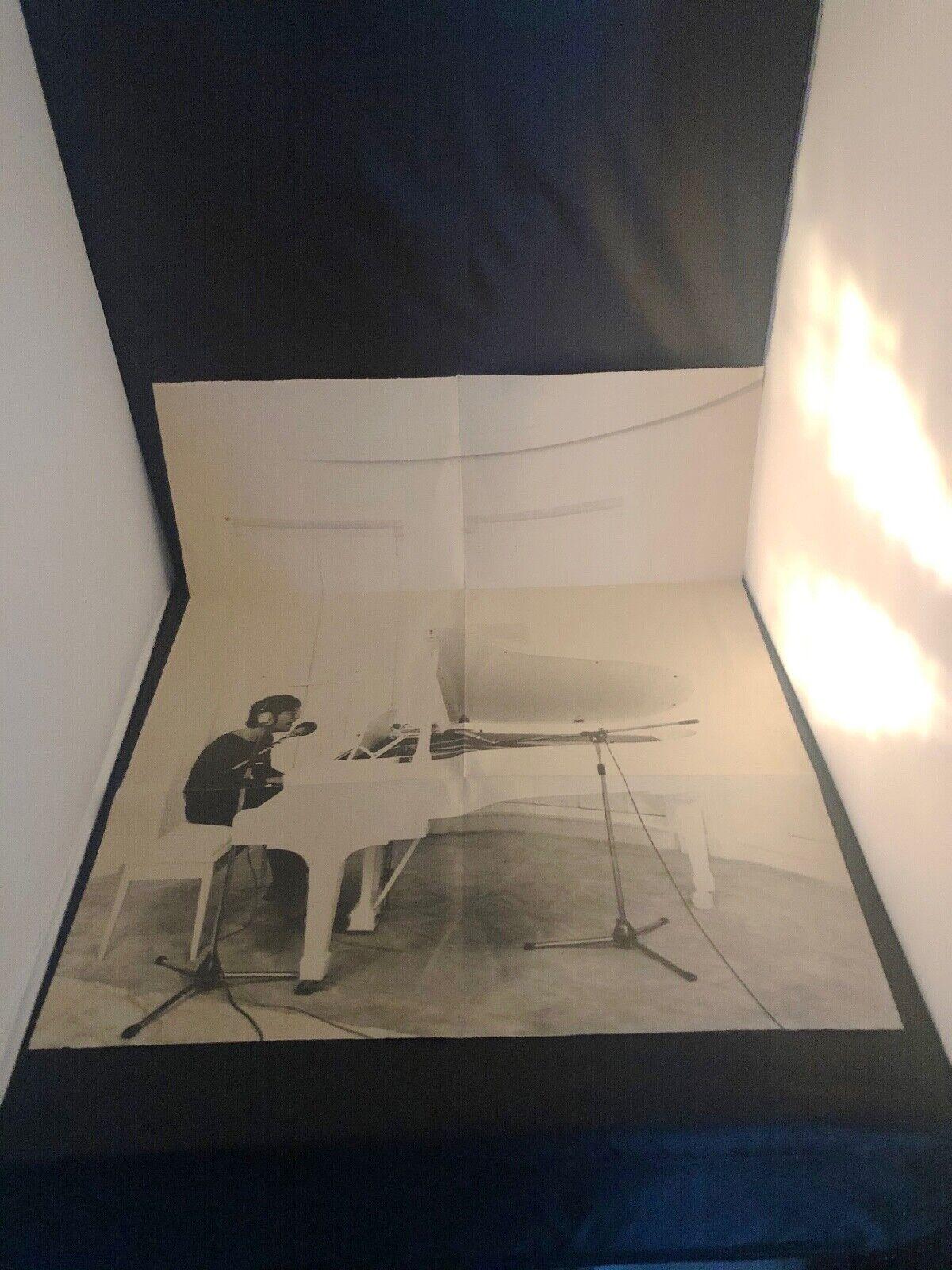 JOHN LENNON AT PIANO - PHOTO BY Peter Fordham Black White Poster 32 x 22  - $4.00