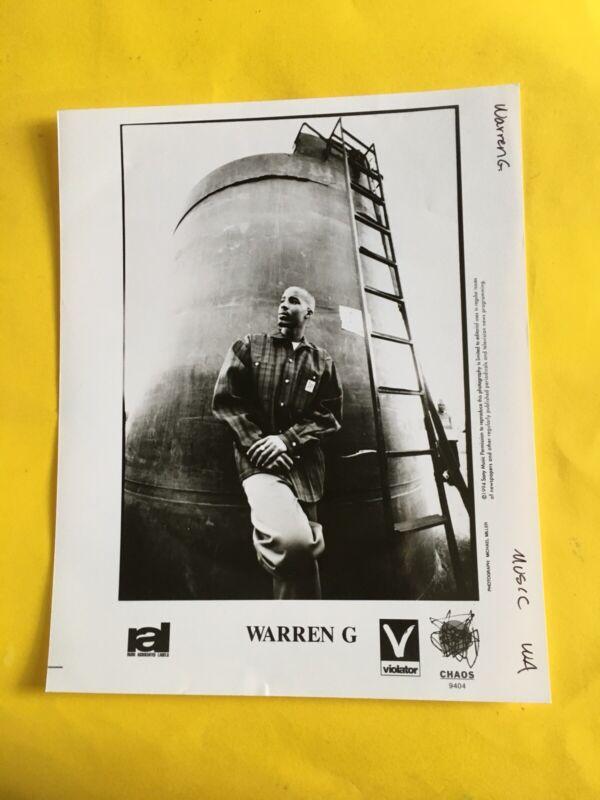 "Warren G Press Photo 8x10"", Chaos 1994, Photo: Michael Miller. See Photos."