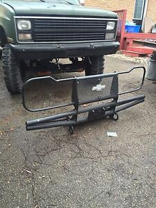 Custom chevy front bumper