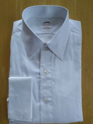 NWT Brooks Brothers Golden Fleece White Formal Shirt 16-34 Madison MSRP $225