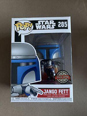 JANGO FETT Funko Pop Special Edition STAR WARS Boba Mandalorian Minor Box Wear
