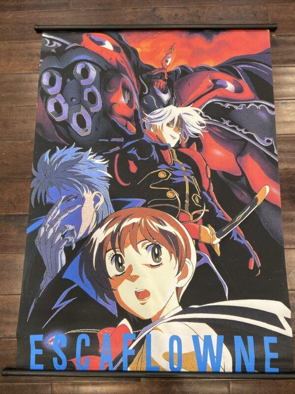"ESCAFLOWNE RARE Anime Poster Wall Scroll MINT VERY NICE 31""x43"""