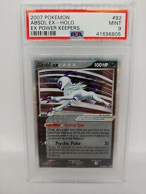 Pokemon ex Power Keepers Absol ex 92 - PSA 9 MINT