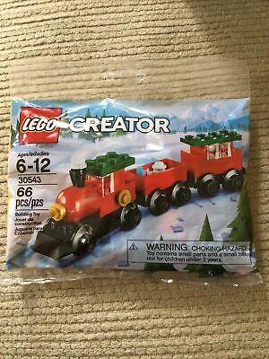 Lego Creator 30543 Holiday Christmas Train Polybag #6214755 NIP